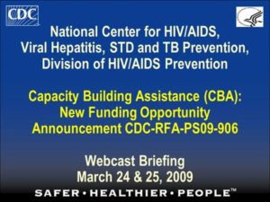 National Center for HIV/AIDS, Viral Hepatitis, STD, and TB Prevention for the CDC