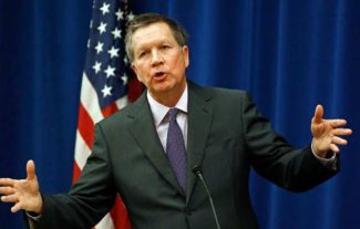 Governor, John Kasich told the Ohio House our state is on verge of a recession.